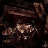 Gevonden die oude fiets